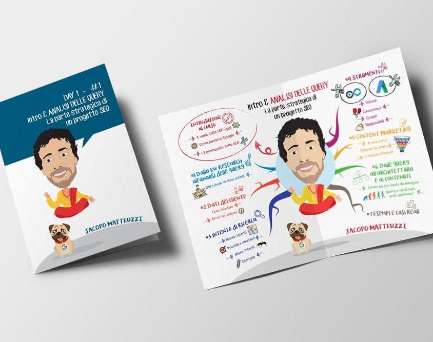 Brochure per Da Zero A Seo – Seconda Edizione