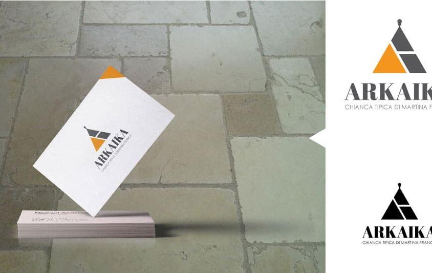 Idea logo e biglietto da visita per Arkaika