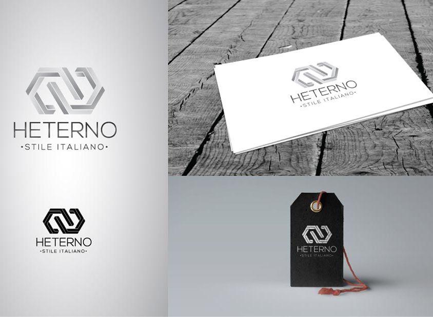 Idea logo e biglietto da vista per Heterno