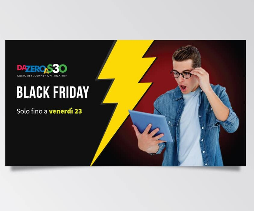 Campagne advertising Da Zero A Seo 3 per Black Friday di Studio Samo – Facebook Ads